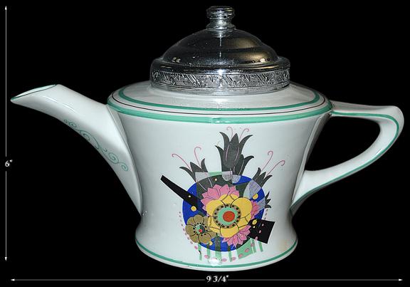 Frauenfelter Deco Teapot