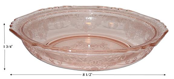 Hazel Atlas Florentine 1 Large Berry Bowl