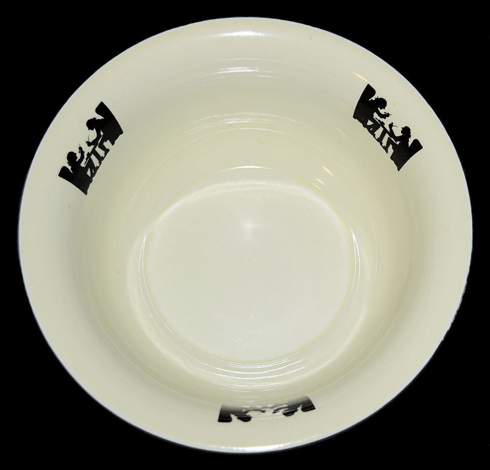 """HALL CHINA SILHOUETTE 8"""" FLARED BOWL ANOTHER VIEW"""