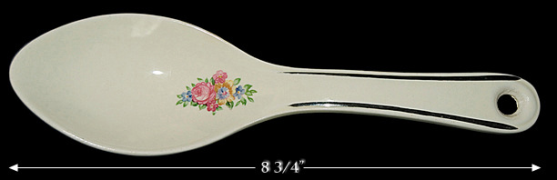 Hall Blue Bouquet Spoon