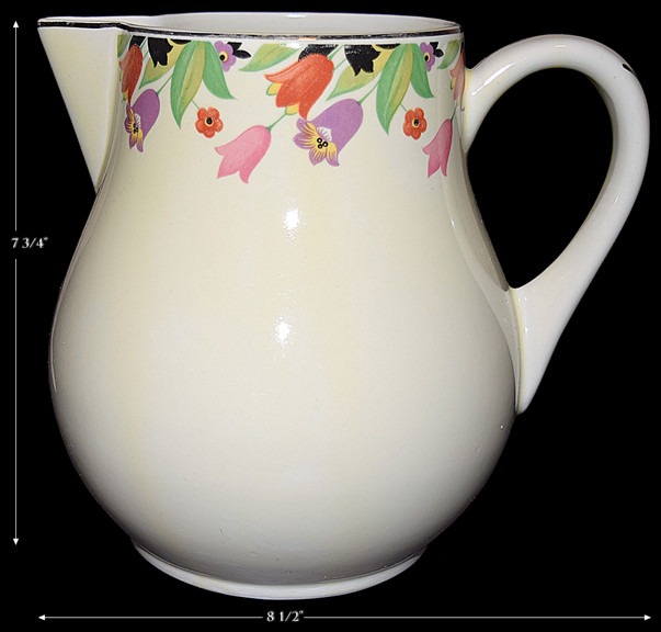 HALL CROCUS SIMPLICITY JUG / PITCHER