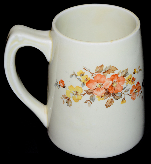 HALL Gaillardia Tankard Mug The Other Side