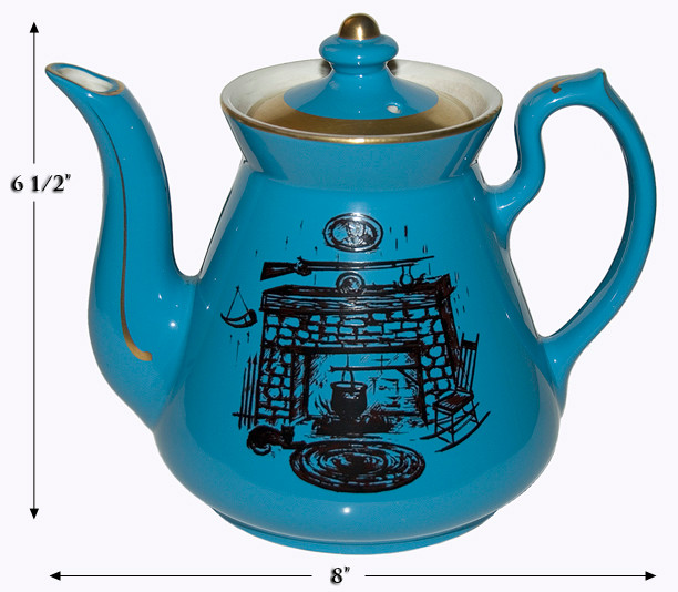 HALL PHILADELPHIA HEARTH TEAPOT