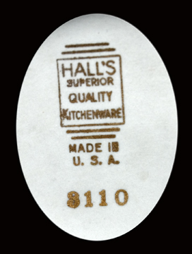 Hall Superior Quality Streamline Backstamp