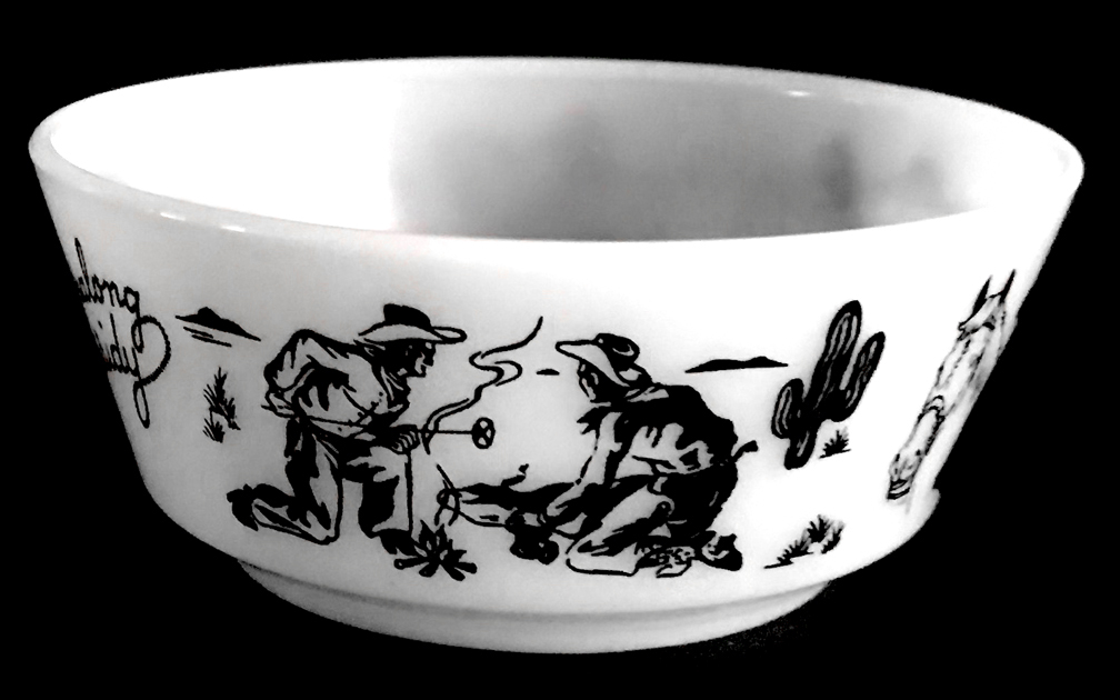 Hopalong Cassidy Child's Bowl3