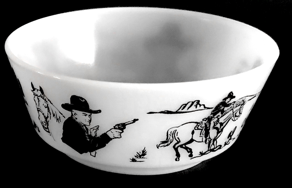 Hopalong Cassidy Child's Bowl 2