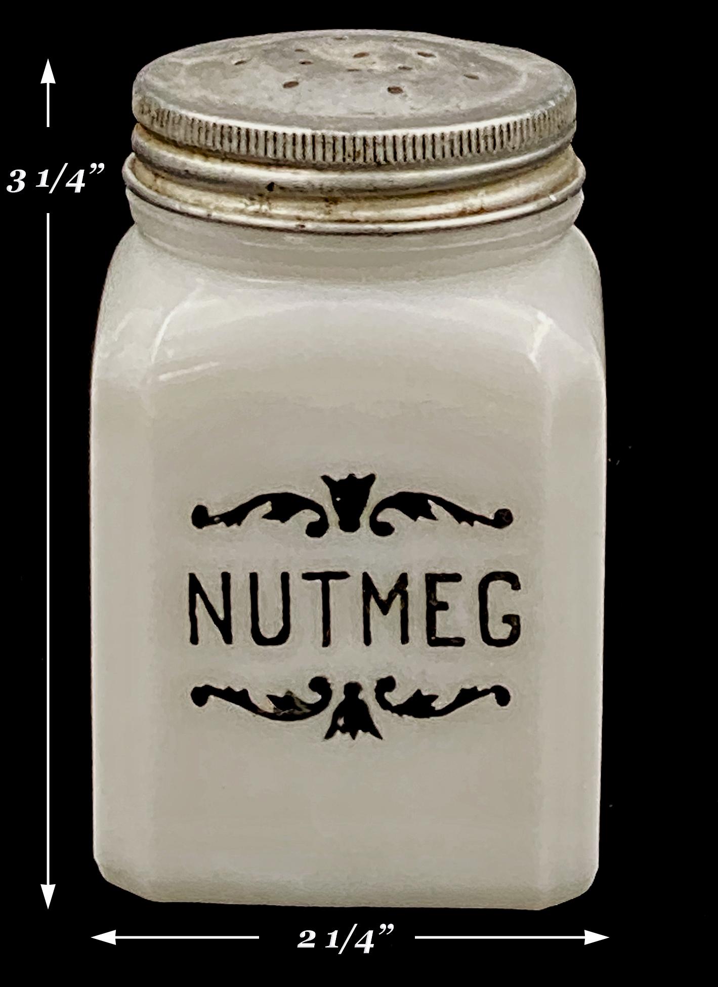 Hazel Atlas Scroll Nutmeg Shaker