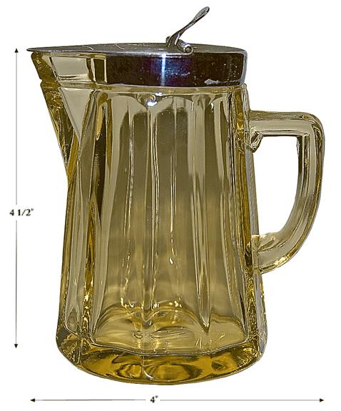 Heisey No. 372 McGrady Syrup in Sahara