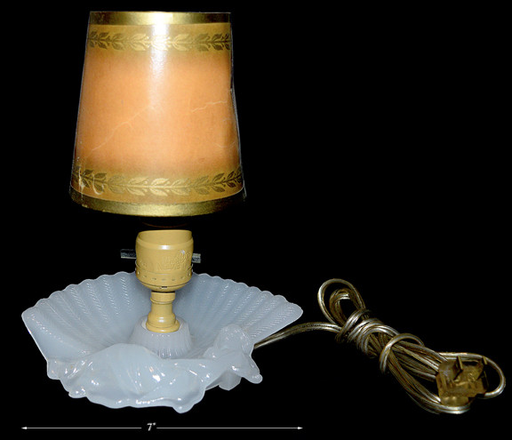 Houze Moonstone Lady Lamp with Paper Shade