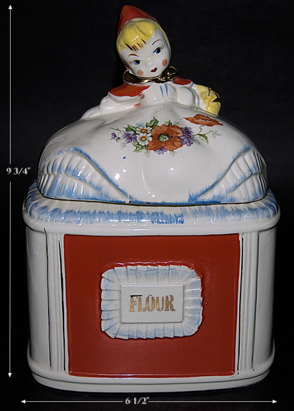 Regal Red Riding Hood Flour Canister