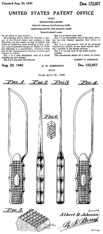 Steelite Glass Knife Patent
