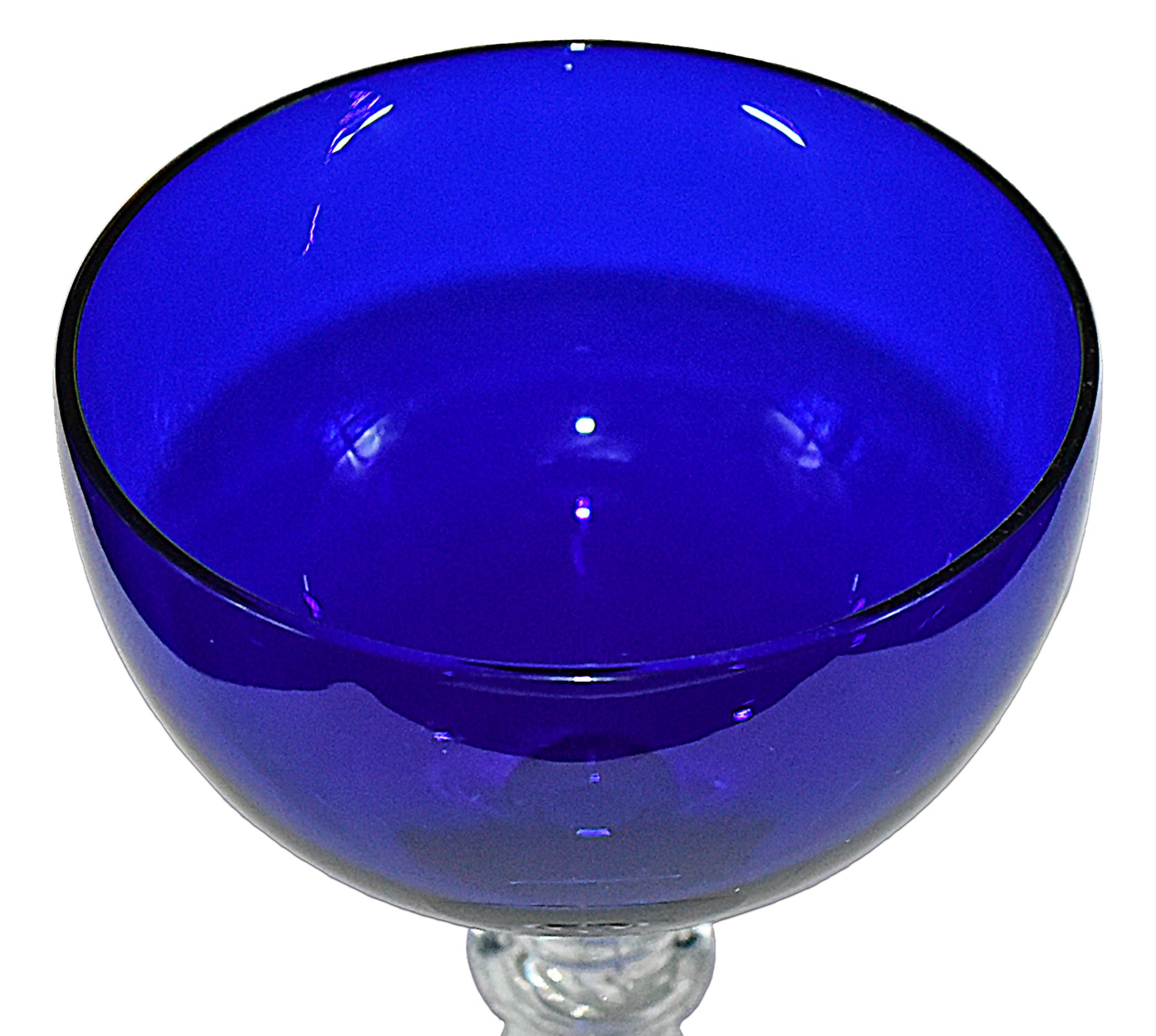 Morgantown Chateau Champagne Sherbet Bowl