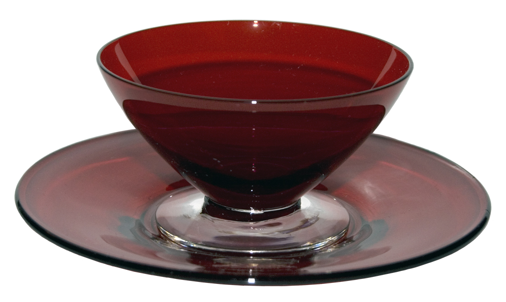Morgantown #7730 Finger Bowl and Underplate