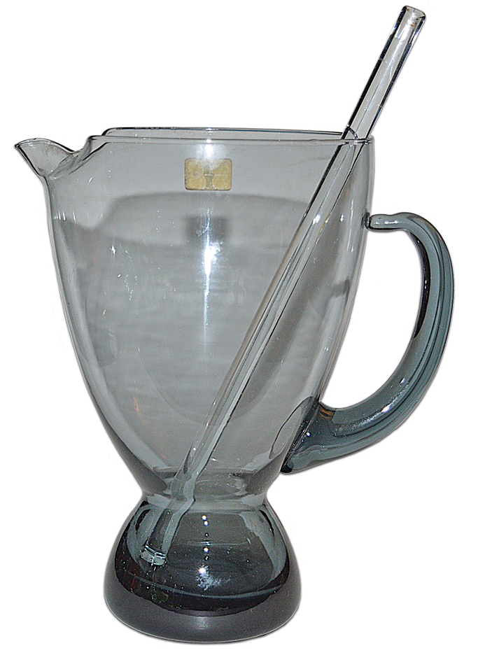 Morgantown Steel Blue Martini Mixer Pitcher