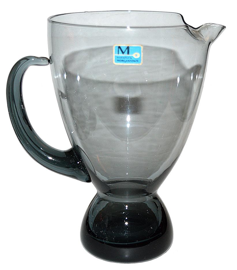 Morgantown Steel Blue Martini Mixer Pitcher TOS