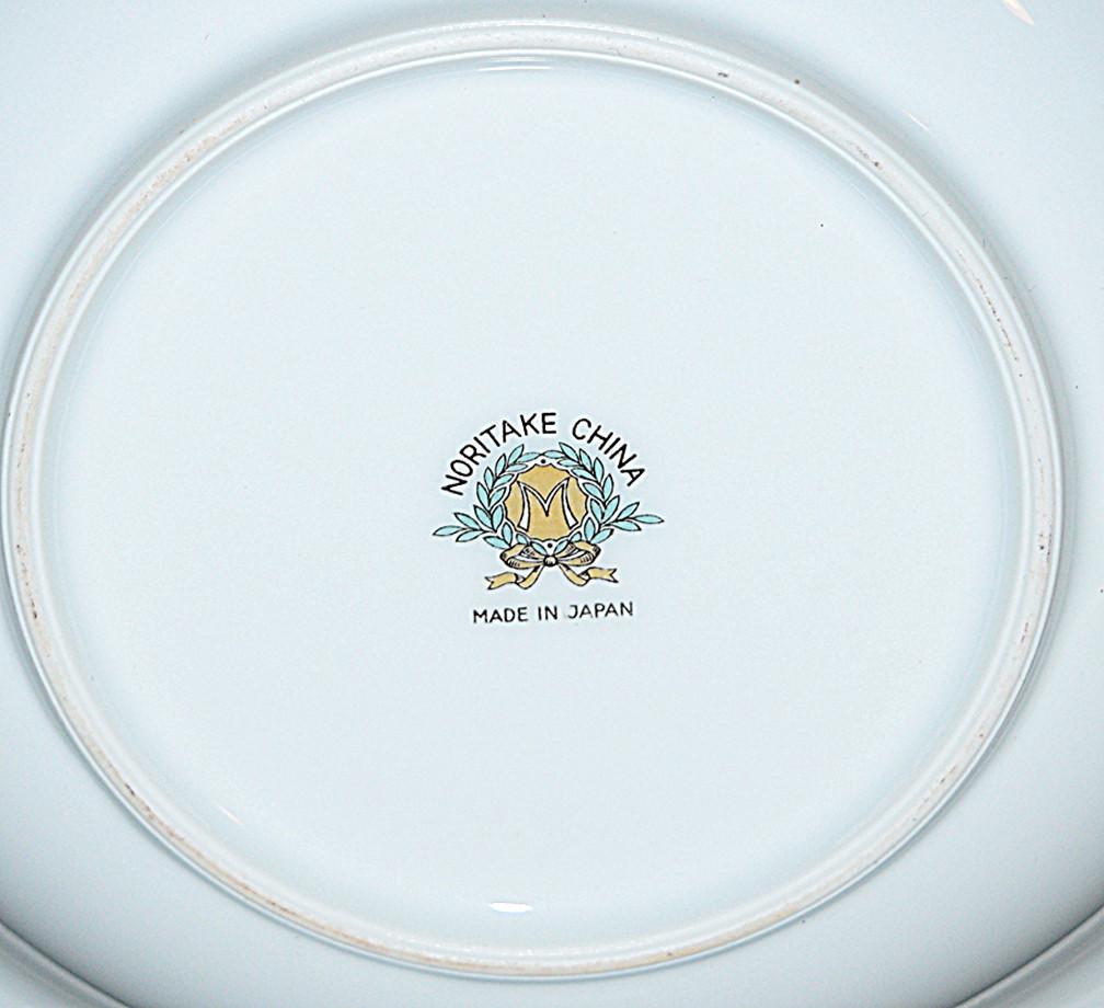 Noritake Mystery Flat Soup Bowl Backstamp