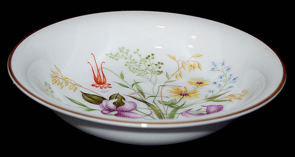 Noritake Mystery Small Berry / Fruit Bowl Another View