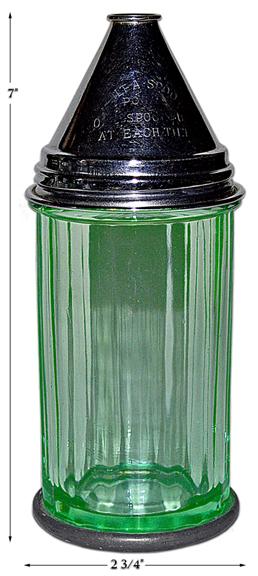 Paden City Green Med Co TILT-A-SPOON Sugar Shaker
