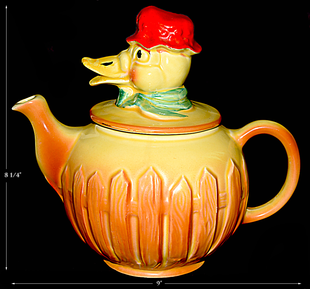 Regal Old McDonald Duck Teapot