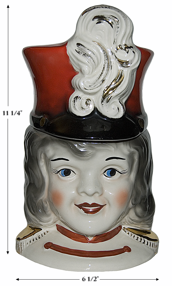Regal Majorette Cookie Jar