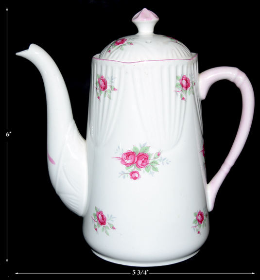 Royal York Sweetheart Rose Demitasse Coffee Pot