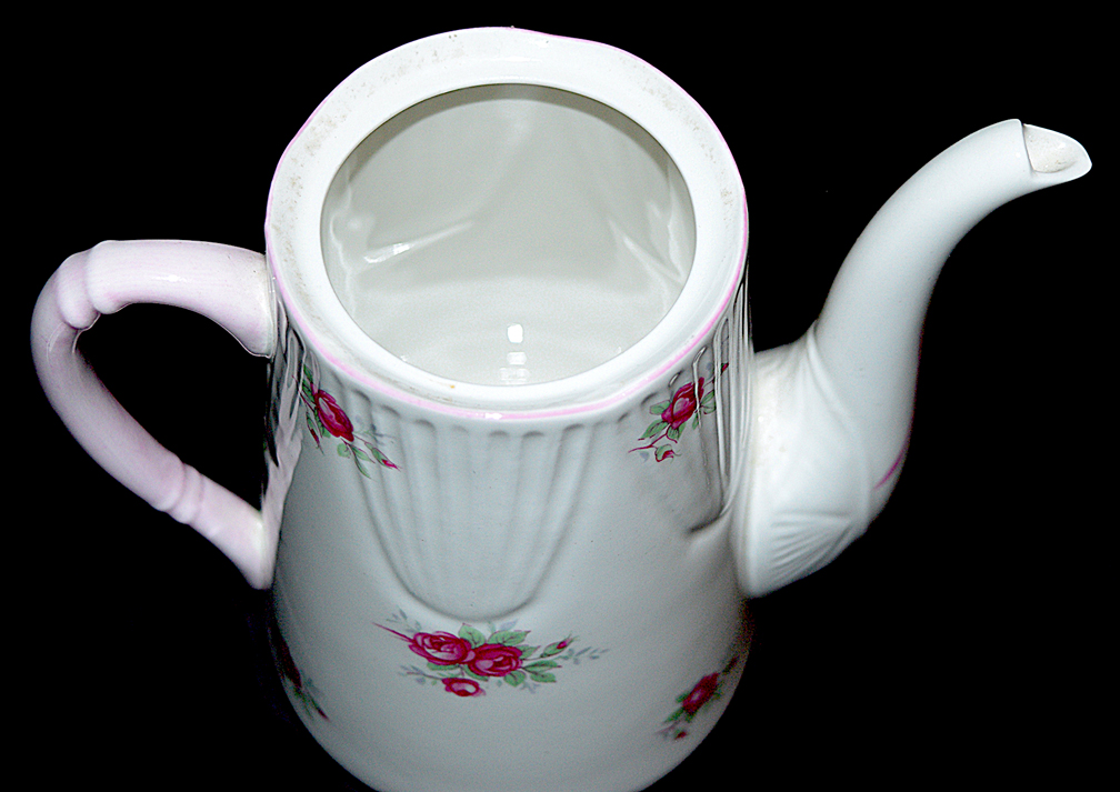 Royal York Sweetheart Rose Demitasse Coffee Pot Bottom