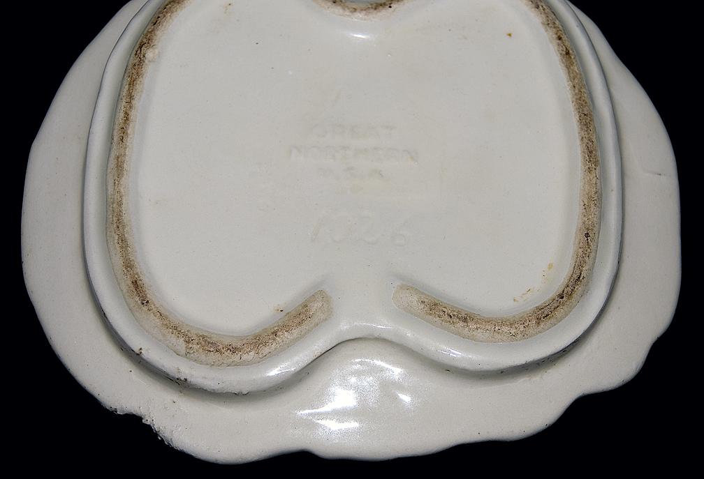 Shawnee Great Northern Dutch Girl Cookie Jar Backstamp