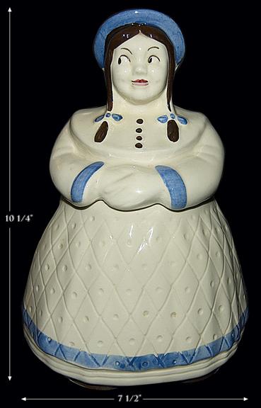 Shawnee Great Northern Dutch Girl Cookie Jar