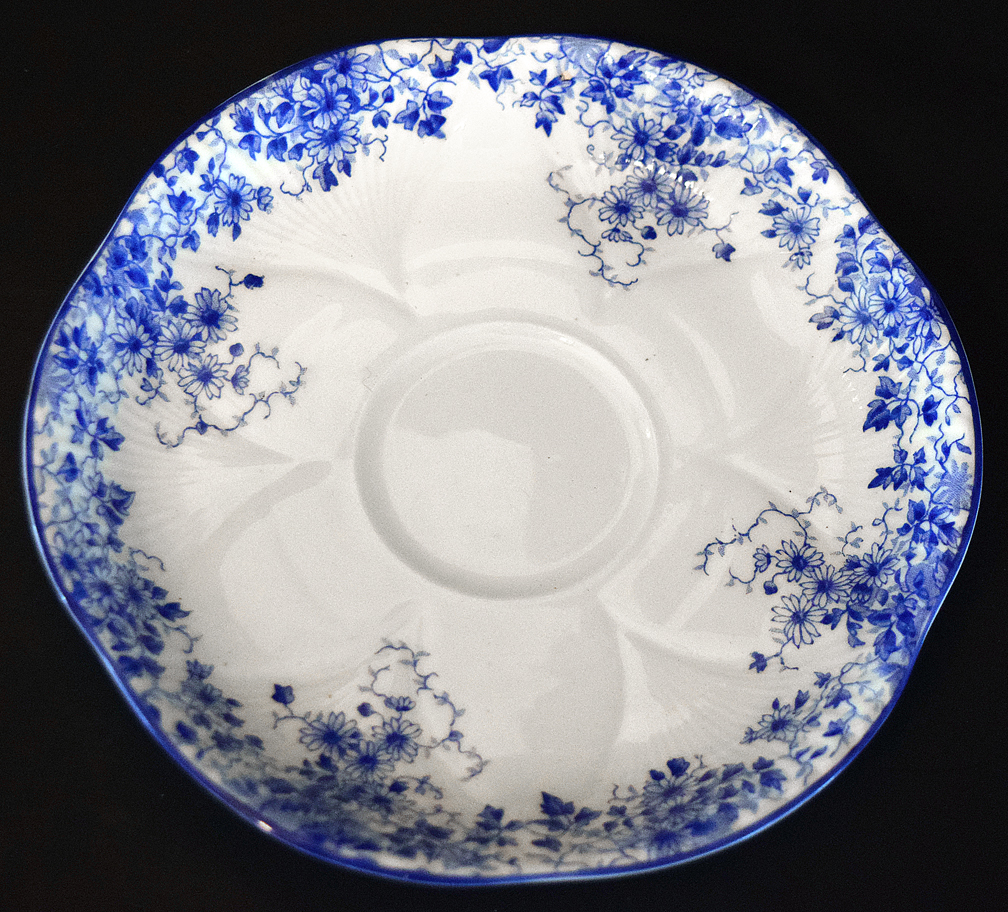 Shelley Dainty Blue Saucer