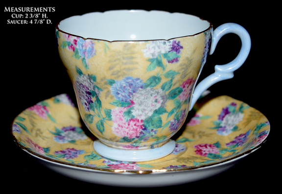 Shelley Melody Demitasse Cup and Saucer