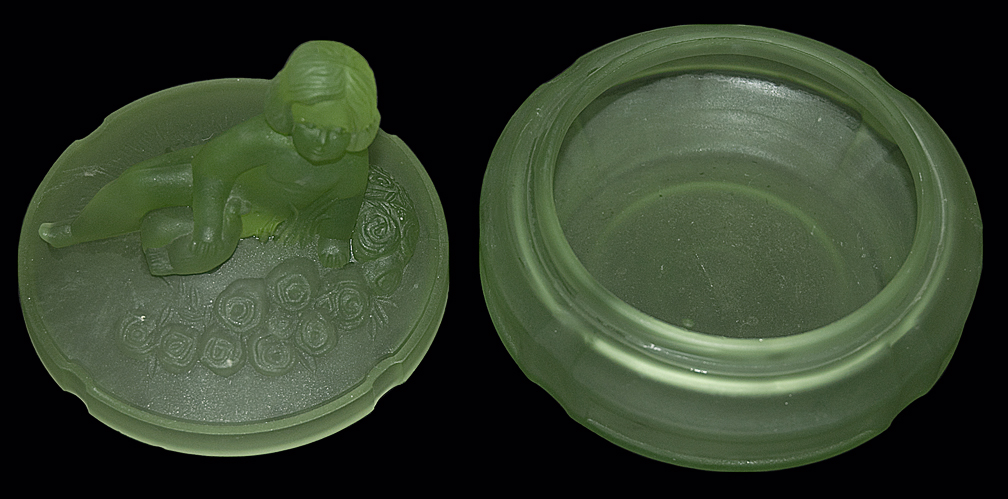 Smith Cherub Powder Jar - APART