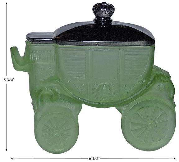 CINDERELLA'S COACH POWDER JAR