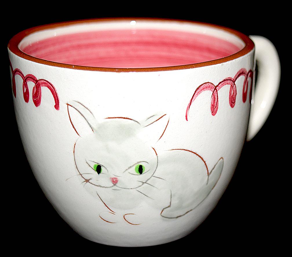 Kitten Capers Divided Mug