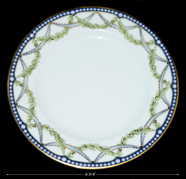 Tiffany Federal Bread and Butter Plate
