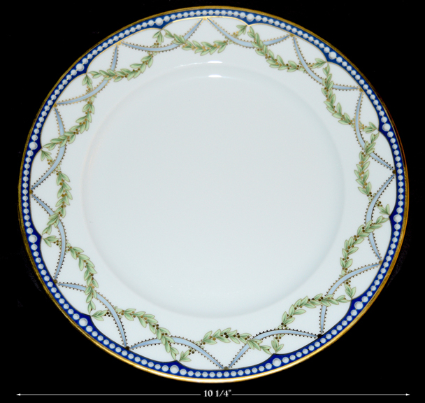 Tiffany Federal Dinner Plate