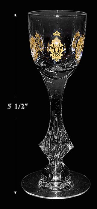 Tiffin Pa Lais Versailles Cordial Goblet