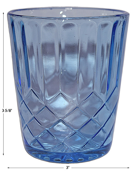 Blue Aunt Polly Tumbler