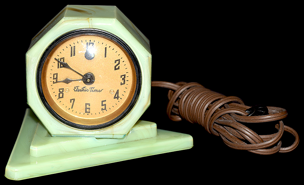 Vidrio Electric Time Clock Another View