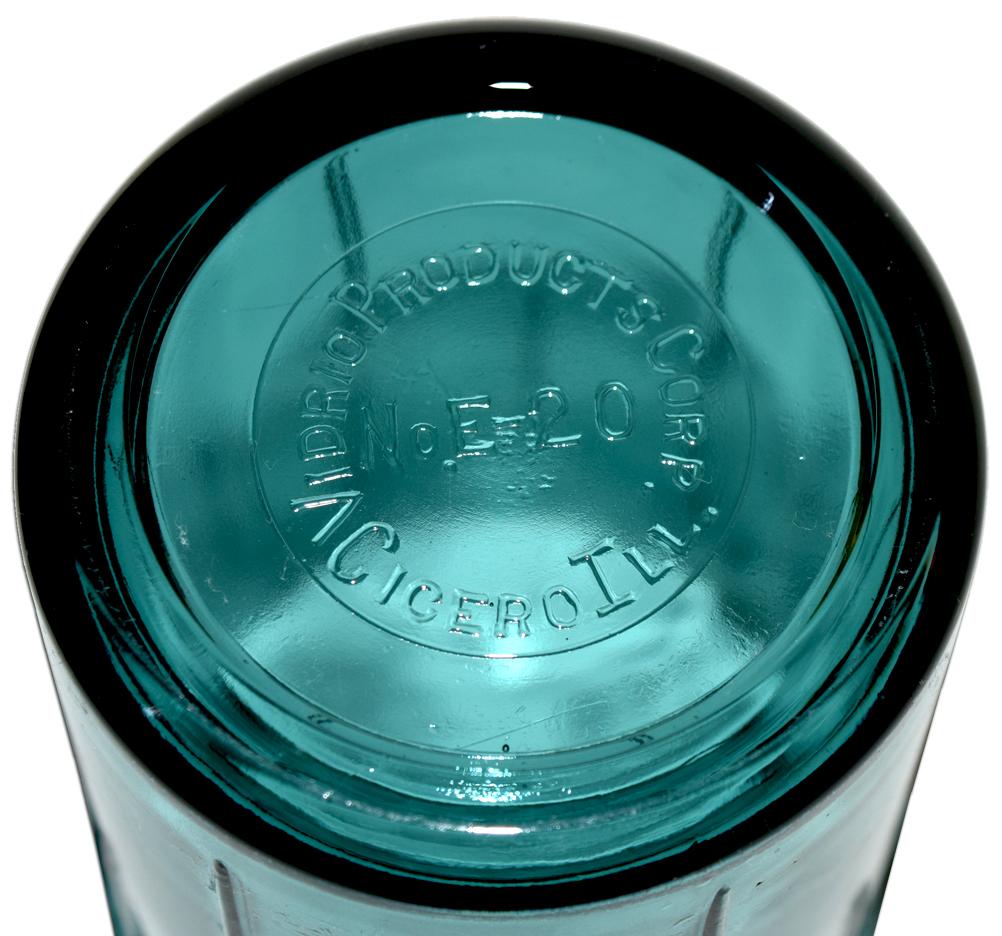 Vidrio Ultramarine / Teal Electric Beater / Mixer Bottom