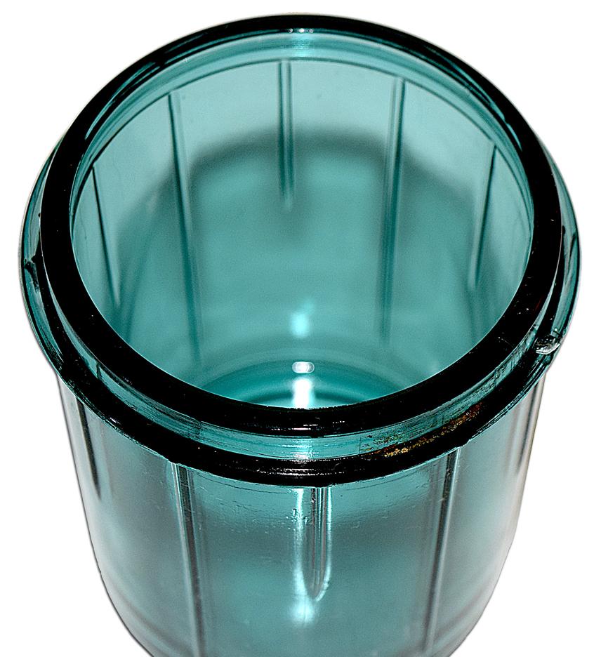 Vidrio Ultramarine / Teal Electric Beater / Mixer Glass Part