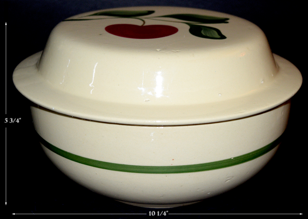 Watt Apple Dutch Oven Casserole with Pie Plate Lid
