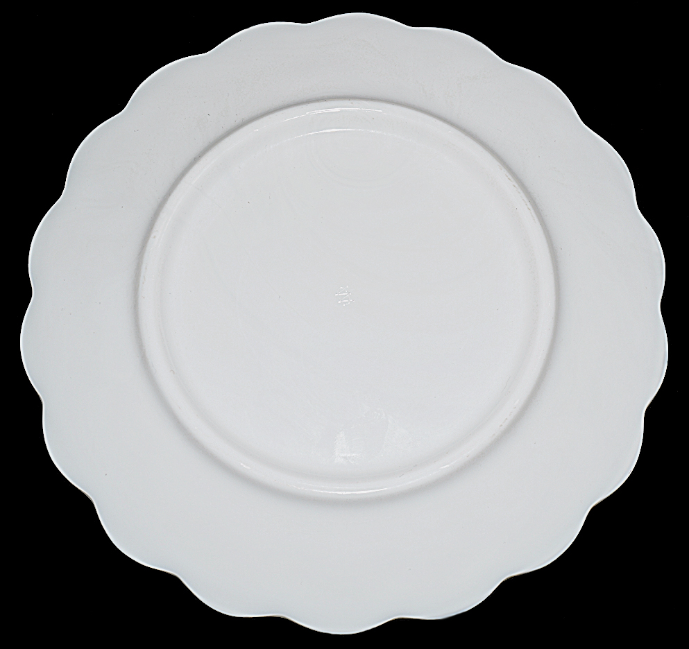 Westmoreland Paneled Grape Dinner Plate Back