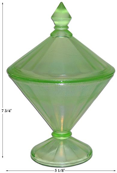 Fenton Florentine Green Stretch 1/2 LB. Candy